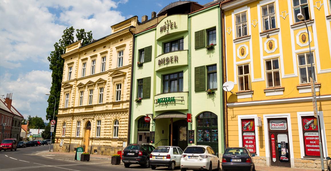 Hotel Rieger in Jičín